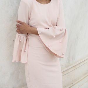 LULU'S blush pink dress Size XS